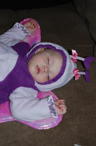 Halloween is exhausting